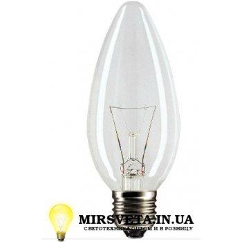 Лампа накаливания свеча ДС 220V 40W E27