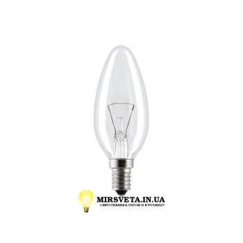 Лампа накаливания свеча ДС 220V 40W E14