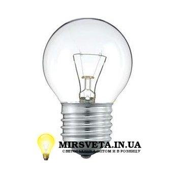 Лампа накаливания шар ДШ 220V 40W E27
