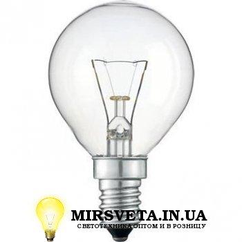 Лампа накаливания шар ДШ 220V 40W E14