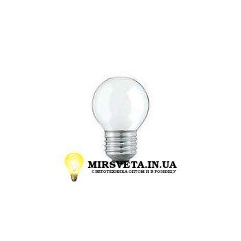 Лампа накаливания шар ДШ 220V 40W E27 матовая