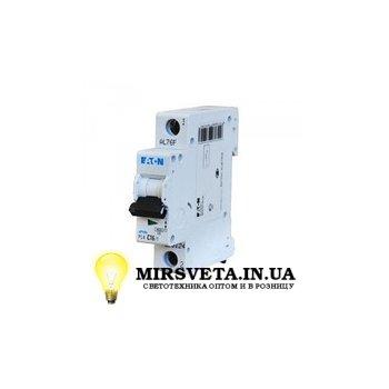 Автоматический выключатель 1п 25А  PL4-C25/1 Eaton