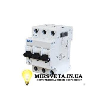 Автоматический выключатель 3п 16А  PL4-C16/3 Eaton