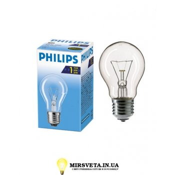 Лампа накаливания ЛОН 75Вт 220В Е27 Stan 75W E27 230V A55 Philips