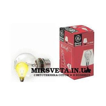 Лампа накаливания ЛОН 60Вт 220В Е27 60 A1/CL/E27 A50 GE