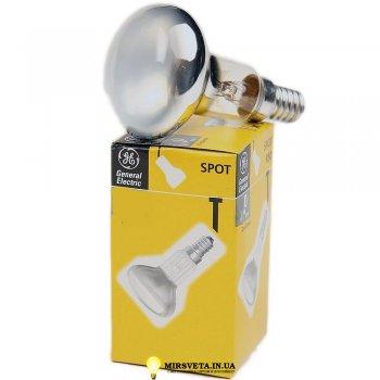 Лампа накаливания рефлекторная R80 60Вт Е27 60 R80S/E27 GE