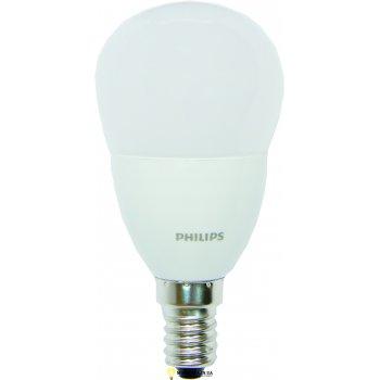 Лампа светодиодная 6Вт CorePro luster ND 6-40W E14 827 P48 FR PHILIPS