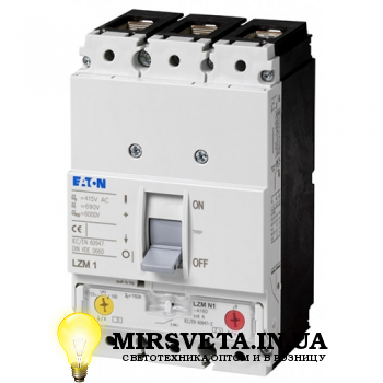 Автоматический выключатель 3п 160А LZMC1-160A Eaton