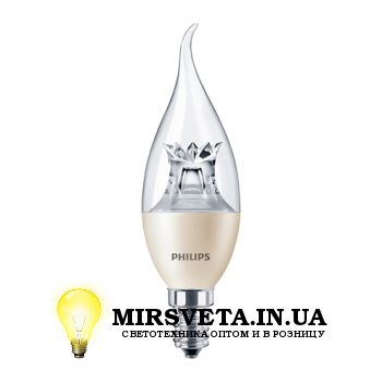 Лампа светодиодная 6Вт MAS LEDcandle DT 6-40W E14 BA38 CL