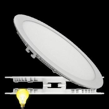 Светильник светодиодный встраиваемый (даунлайт)ЛЕД ДЕЛЬТА 18 Вт/840-020, 225 мм
