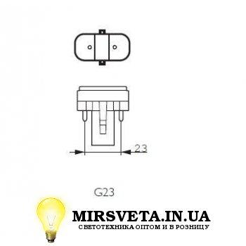 Лампа енерго сберегающая компактно люминесцентная PL-S  11W/830/2P Philips