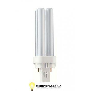 Лампа енерго сберегающая компактно люминесцентная PL-C  18W/840/2P Philips