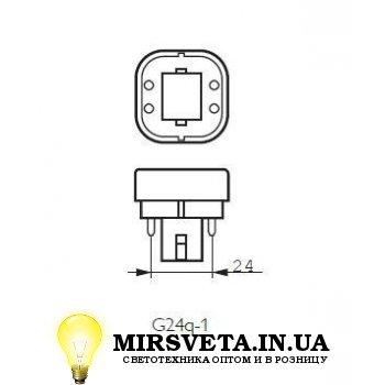 Лампа енерго сберегающая компактно люминесцентная PL-C  13W/840/4P Philips