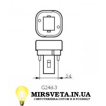 Лампа енерго сберегающая компактно люминесцентная PL-C  26W/830/2P Philips