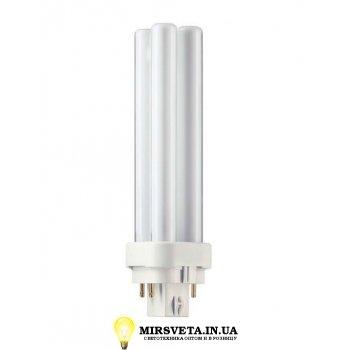 Лампа енерго сберегающая компактно люминесцентная PL-C  18W/840/4P Philips