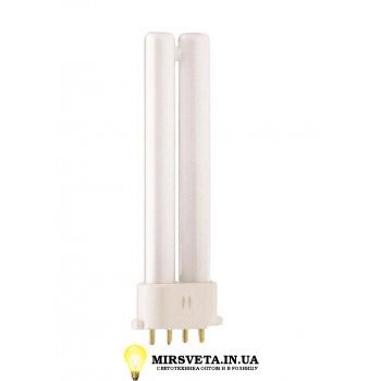 Лампа енерго сберегающая компактно люминесцентная PL-S  11W/840/4P Philips