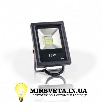 Прожектор светодиодный 10Вт EVRO LIGHT EV-10-01 6400K 800Lm SMD