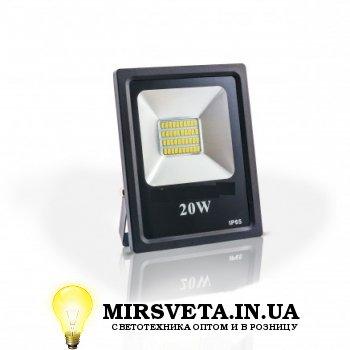Прожектор светодиодный 20Вт EVRO LIGHT ES-20-01 6400K 1100Lm SMD