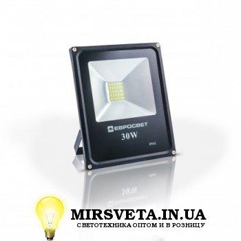 Прожектор светодиодный 30Вт EVRO LIGHT ES-30-01 6400K 1650Lm SMD