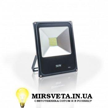 Прожектор светодиодный 50Вт EVRO LIGHT EV-50-01 6400K 3500Lm SMD