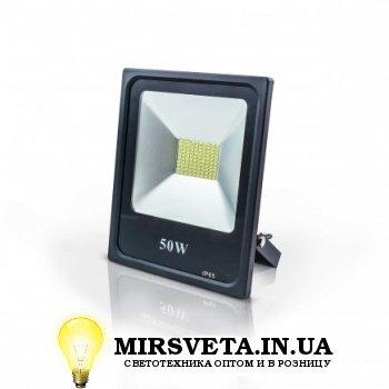 Прожектор светодиодный 50Вт EVRO LIGHT EV-50-01 6400K 4000Lm SMD