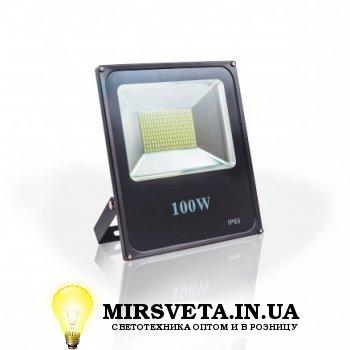 Прожектор светодиодный 100Вт EVRO LIGHT EV-100-01 6400K 8000Lm SMD
