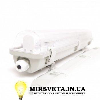 Светильник светодиодный пыле влагозащищенный герметичный EVRO-LED-SH-10 (1*600мм)