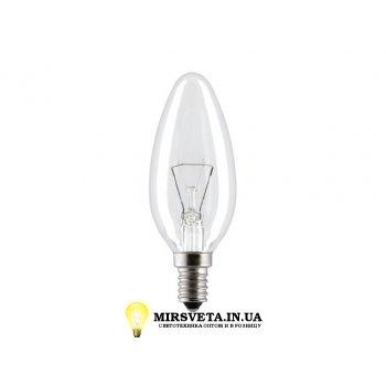Лампа накаливания свеча ДС 220V 60W E14