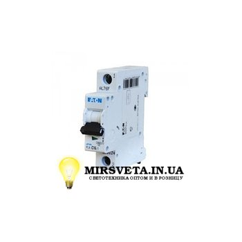 Автоматический выключатель 1п 20А  PL4-C20/1 Eaton