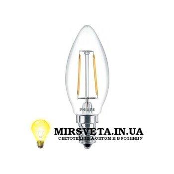 Лампа светодиодная 2,3Вт LED Fila 2.3-25W E14 WW B35 ND 1CT APR