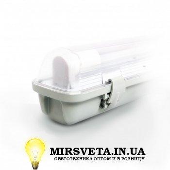 Светильник светодиодный пыле влагозащищенный герметичный EVRO-LED-SH-10 (1*600мм) с лампой ЛЕД