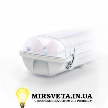 Светильник светодиодный пыле влагозащищенный герметичный EVRO-LED-SH-40 (2*1200мм) с лампой ЛЕД