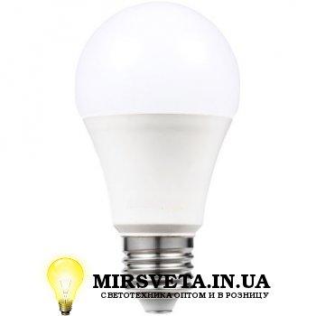 Лампа светодиодная LED 10Вт E27 A-10-3000-27 3000К